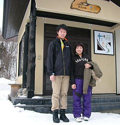 スノーボード満喫♪ 野澤様