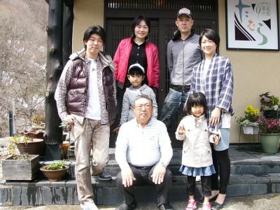 天然温泉を満喫♪ リピーター増田様ご家族