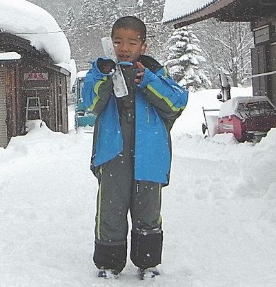 スキー&スノボーと貸切温泉満喫♪ リピーター仁平様