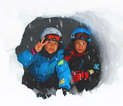 スキーと貸切温泉満喫♪ リピーター山崎様