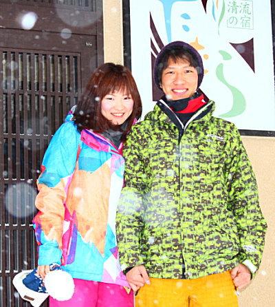 スキーと貸切温泉満喫♪ 松尾様