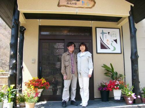 京都からお越しの宇野様ご夫妻