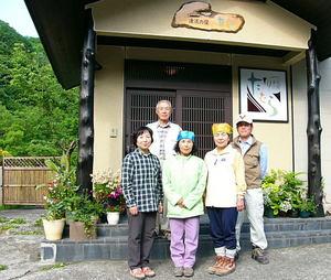 水芭蕉の尾瀬を散策♪ 愛知県からお越しの夏目様ご一行様
