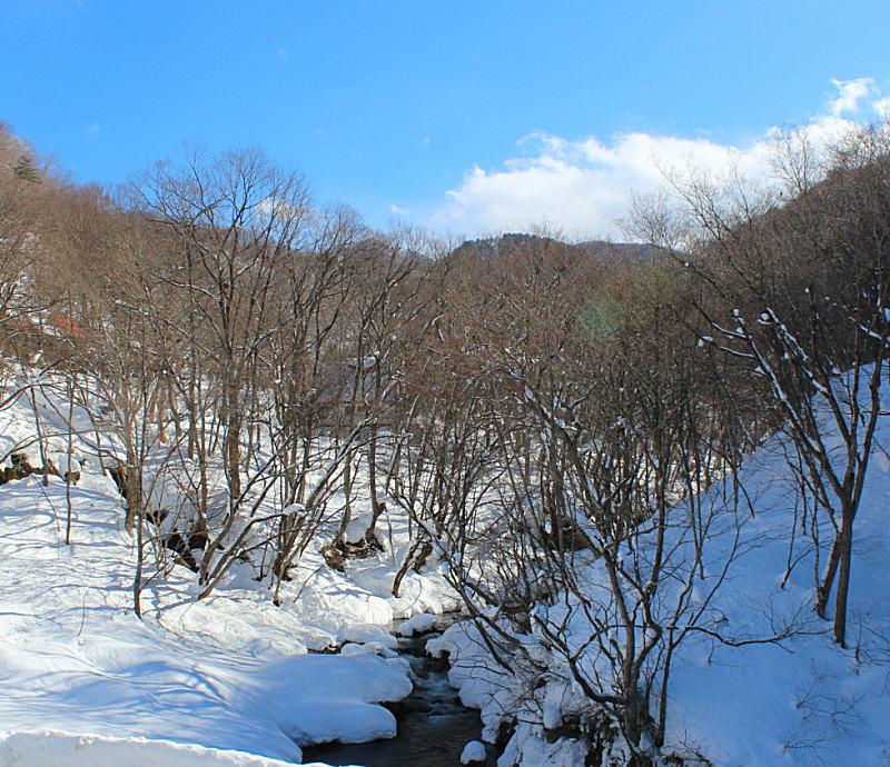 源泉掛け流し雪見の貸切露天風呂