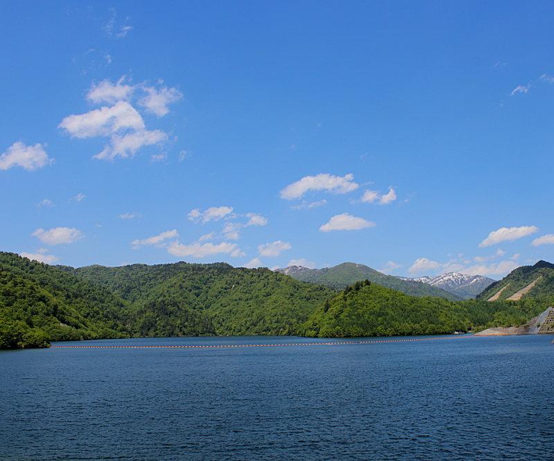 みなかみ町湯の小屋温泉、奈良俣ダム