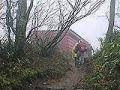 熊穴沢避難小屋 谷川岳山頂登山